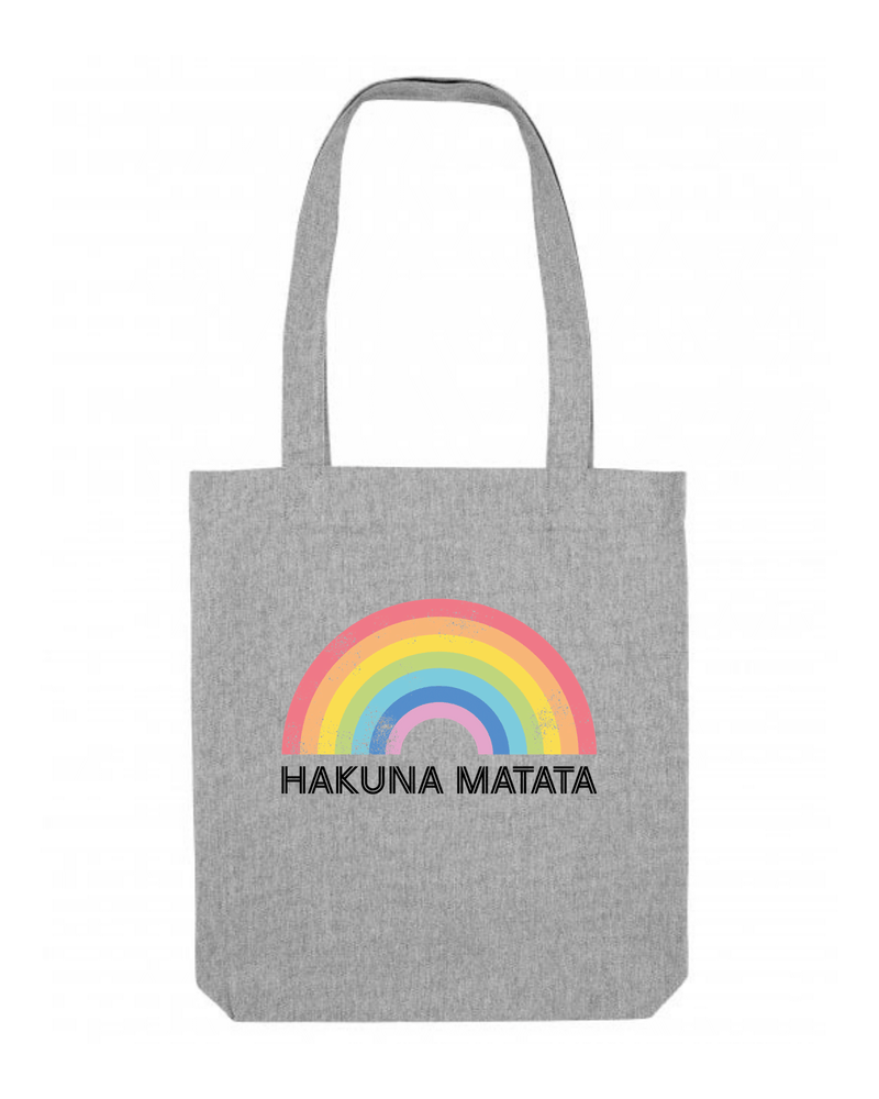 Hakuna Matata Recycled Cotton Tote Bag