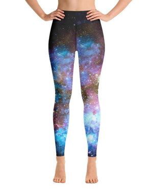Load image into Gallery viewer, Blue Heaven High-Waisted Yoga Leggings