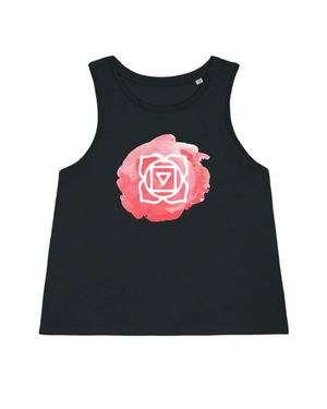 Load image into Gallery viewer, Base Chakra Cropped Tank