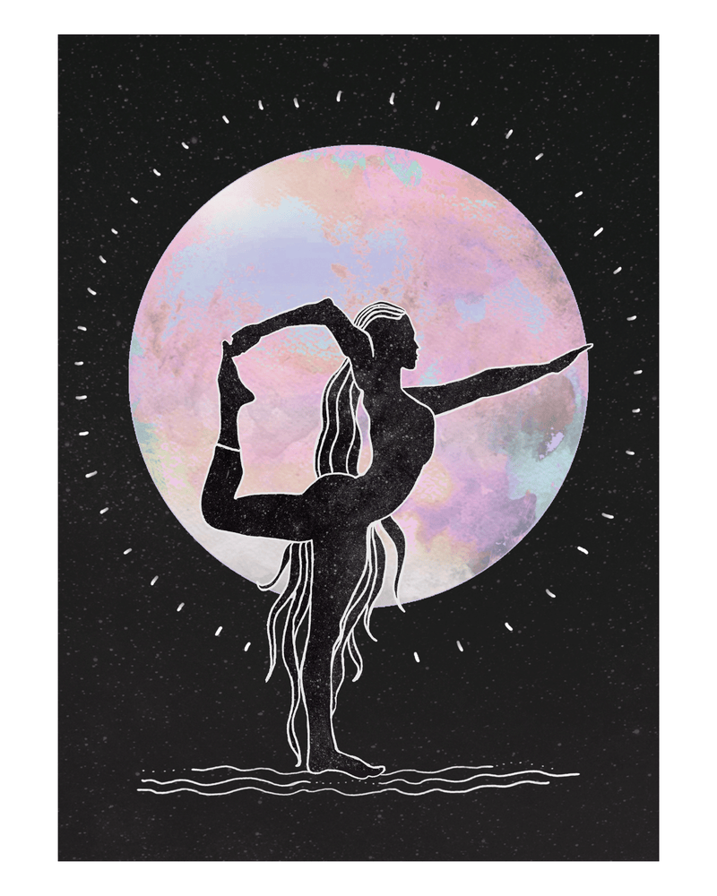 Dancing in the Moonlight Art Print