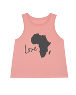 Love Africa Cropped Tank