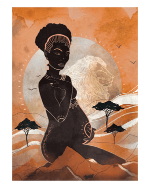 Load image into Gallery viewer, Mama Africa Art Print