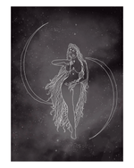 Moon Goddess Art Print