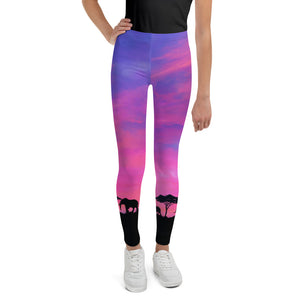 Savanna Skies Youth Leggings (Age 7 - 14y)
