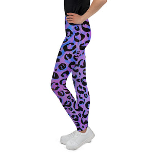 Purple Reign Youth Leggings (Age 7 - 14y)