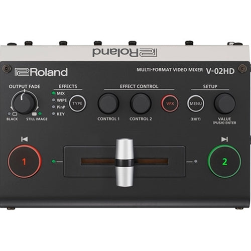 Roland Pro AV V-02HD Multi-Format Video Mixer
