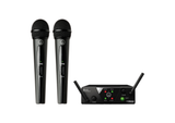 AKG WMS40 Dual Mini Handheld Wireless Vocal Microphone System