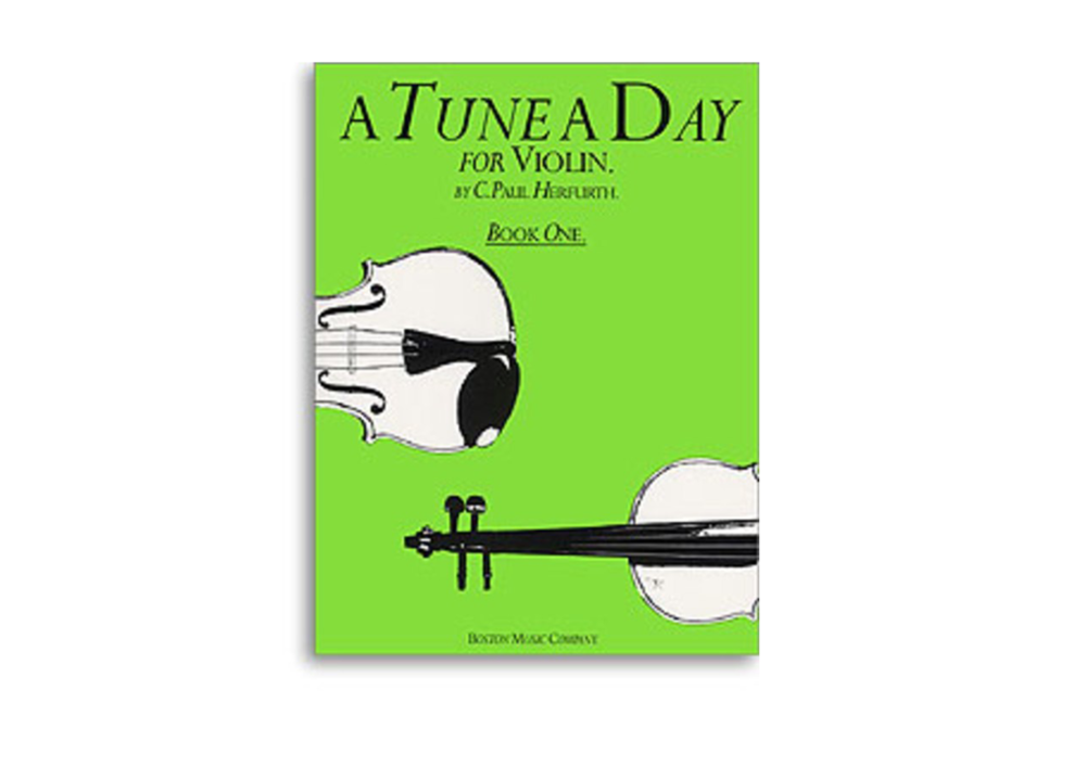A Tune a Day Violin: Lesson Books