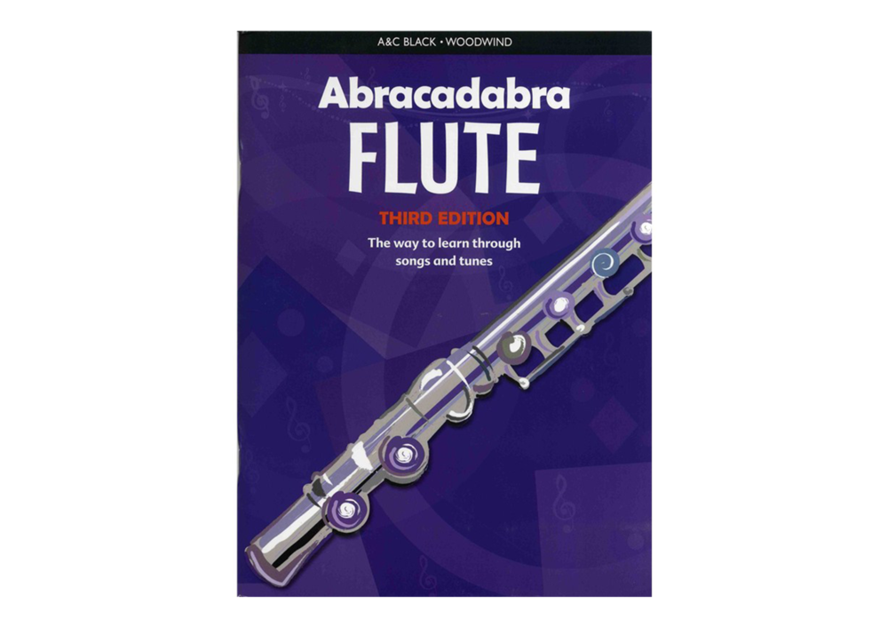 Abracadabra Flute Lesson Book: Available with CD