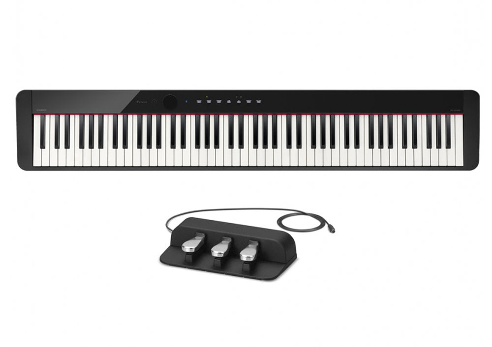 Casio Privia PX-S1000 Compact Digital Piano Package: Includes Stand and Pedals!