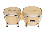 "Drumfire DB5B 6.5"" & 7.5"" Traditional Bongo Drums"