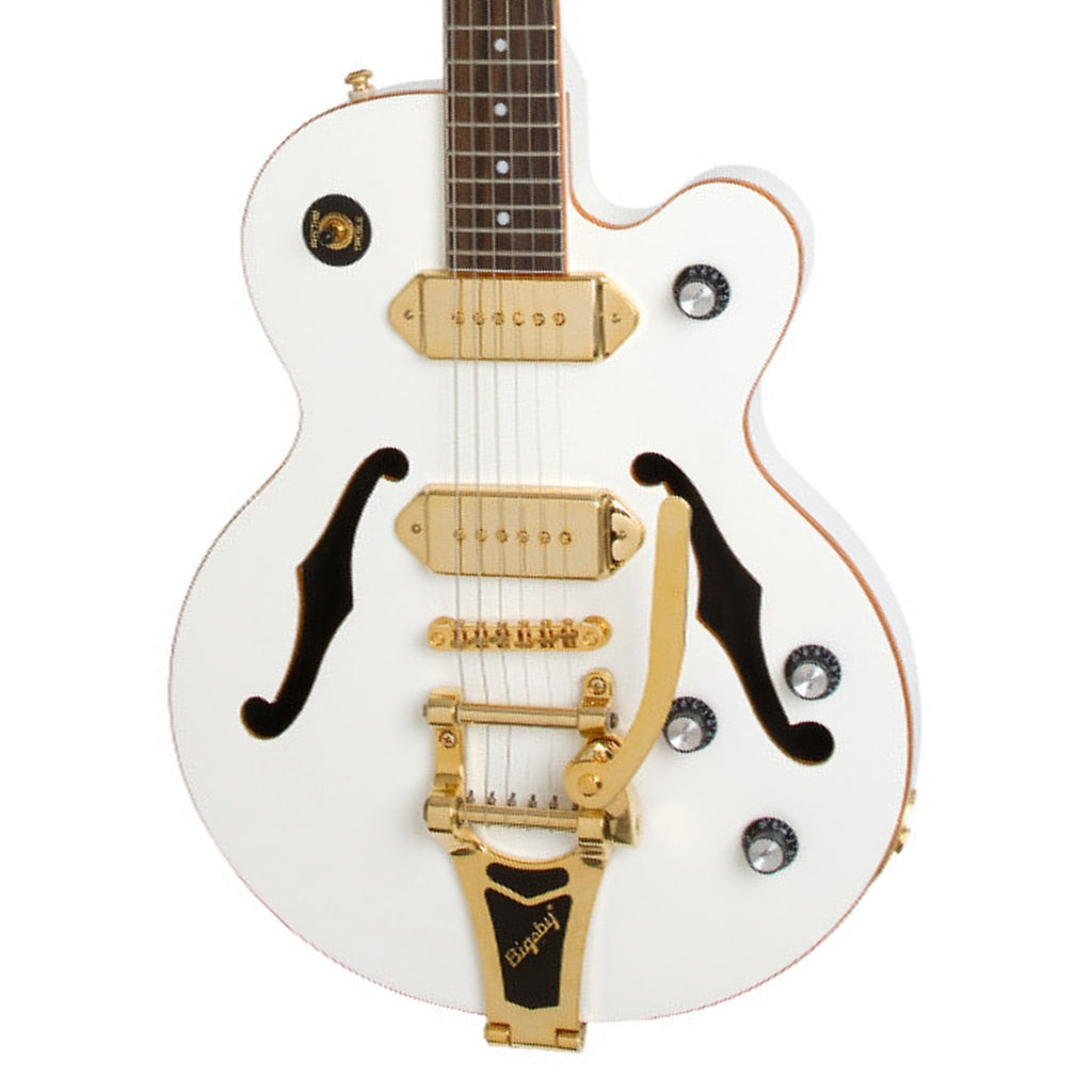 Epiphone Wildkat Royale Archtop Pearl White - Music Corner North