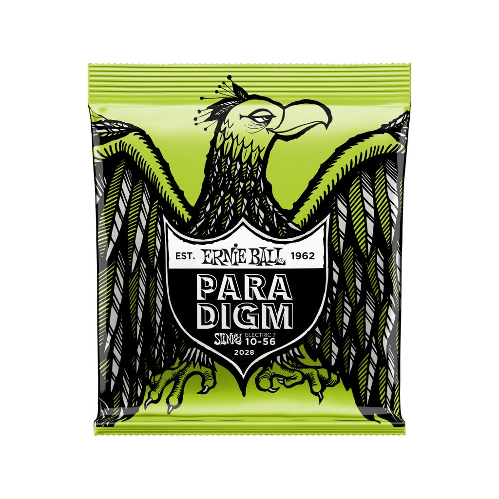Ernie Ball 7-String Electric String Sets: Paradigm/Regular Slinky 10-56