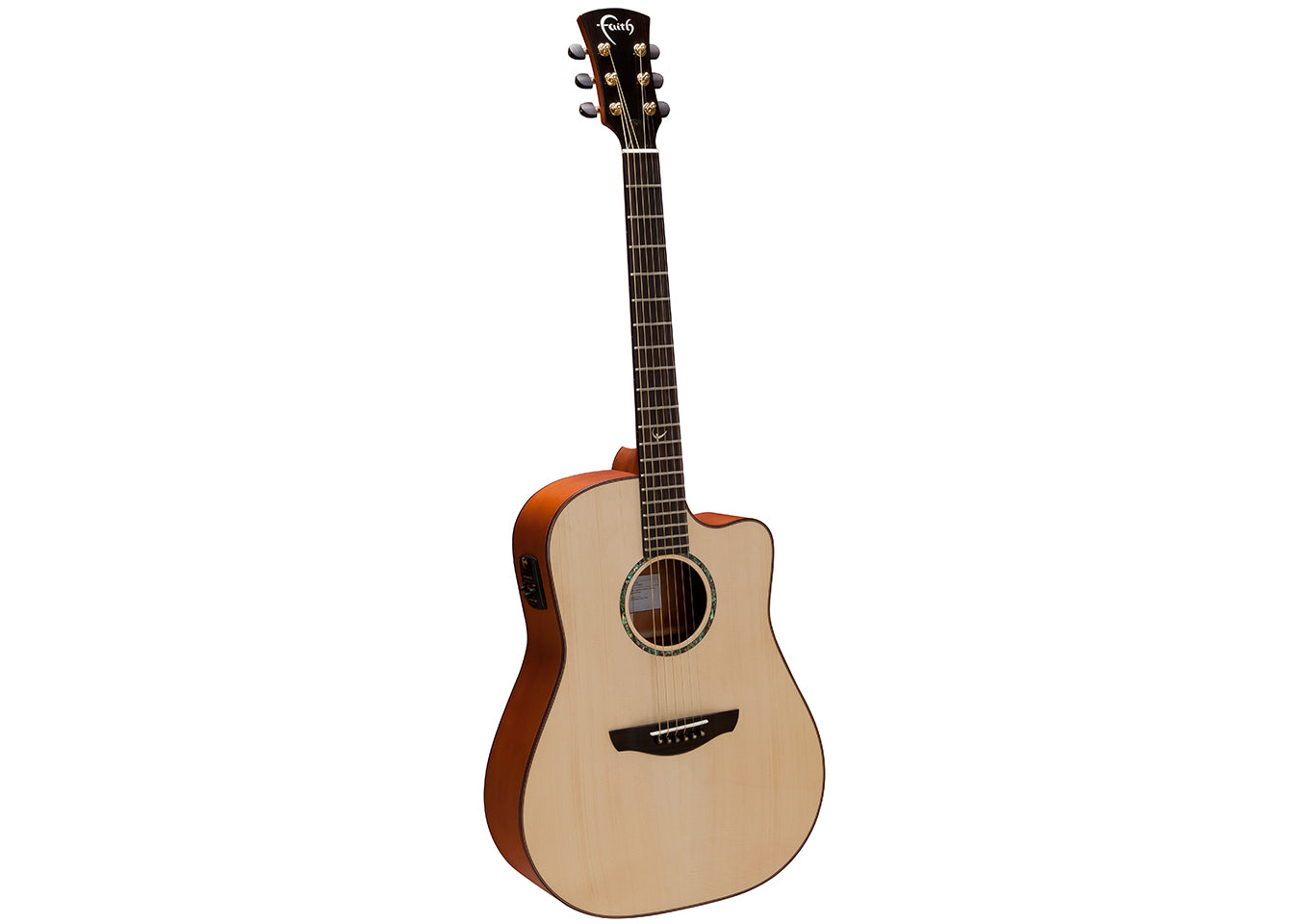 Faith Naked Saturn Electro Acoustic/Electric Dreadnought Guitar - Music Corner North