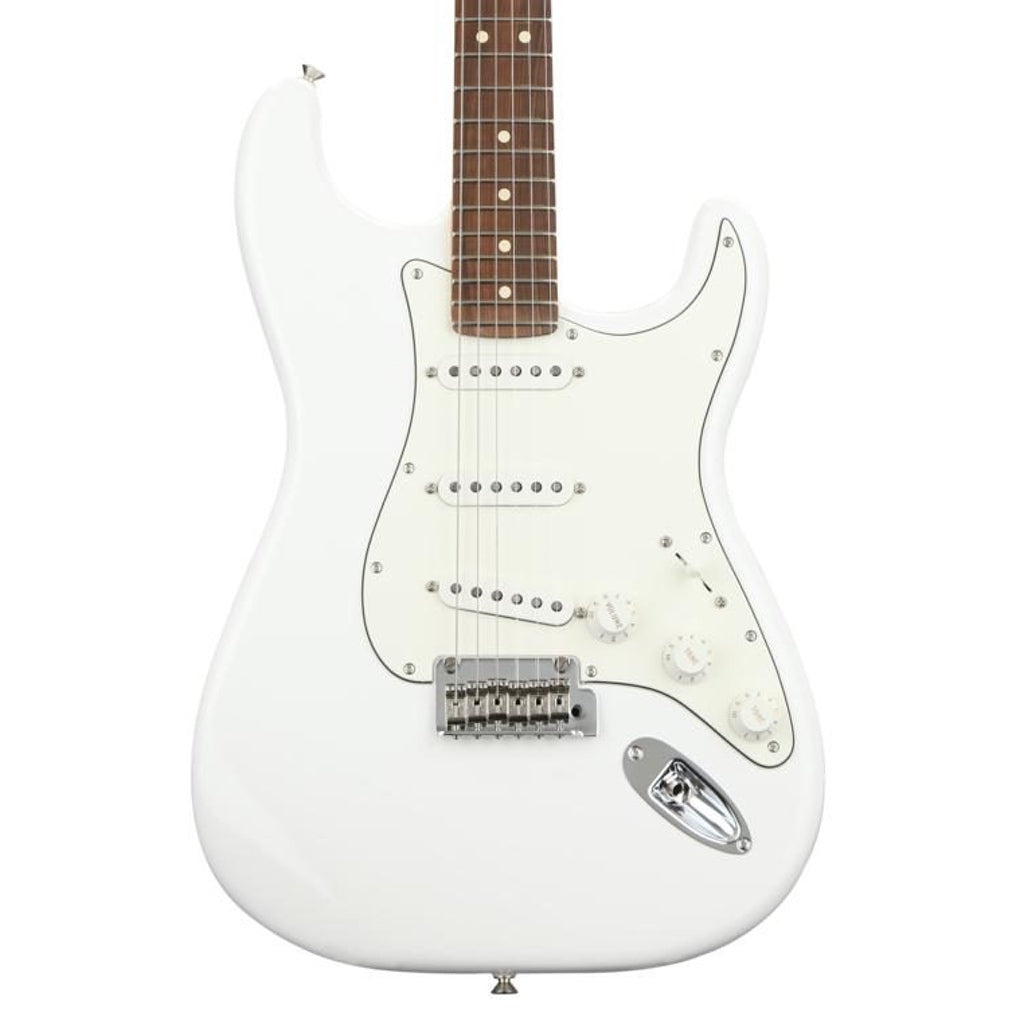 Fender Player Stratocaster SSS Polar White/Pau Ferro