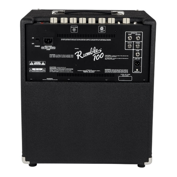 Fender Rumble 100 Bass Amplifier - Music Corner North