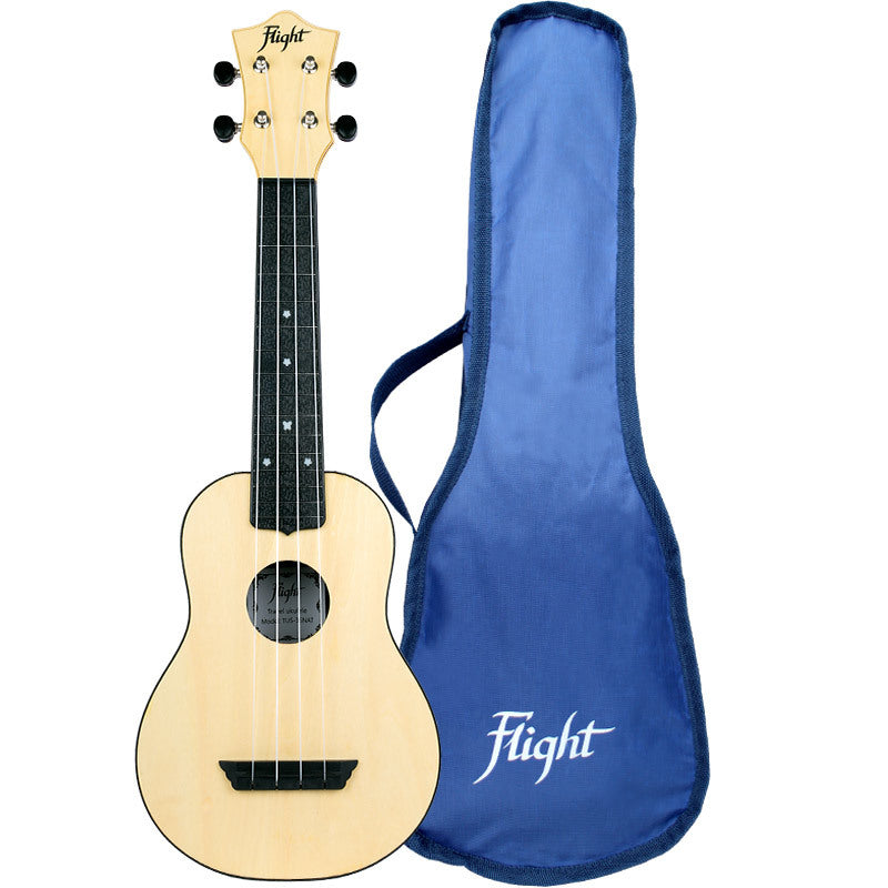 Flight ABS Travel Ukulele 35 Series with Bag: Multiple Colours