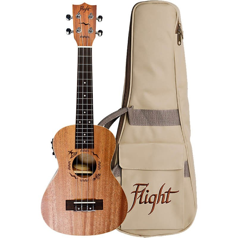 Flight Designer Mahogany 323 Series with Bag Concert/Electro