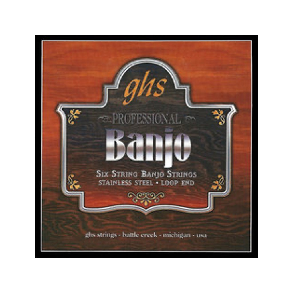 GHS Banjo 6-String Set