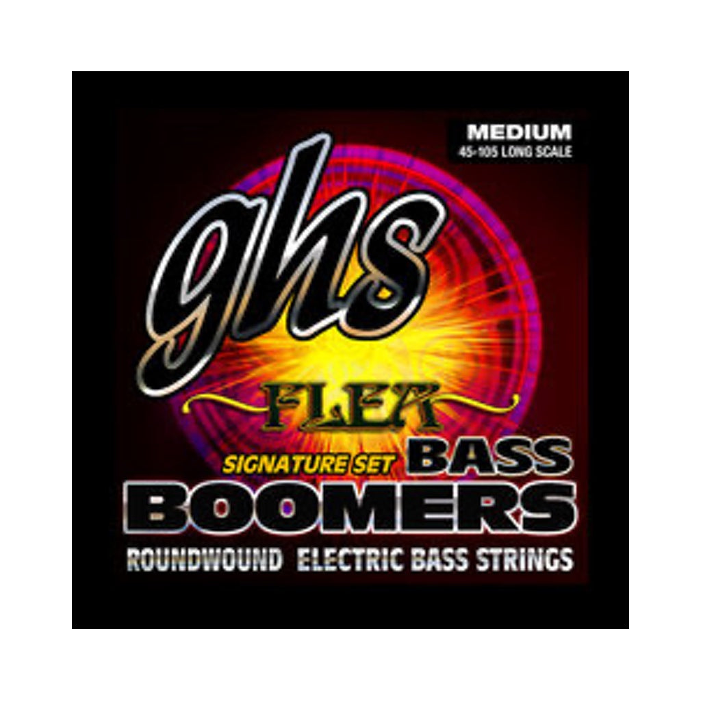 GHS Bass Guitar Flea Signature Bass Boomers M3045F String Set