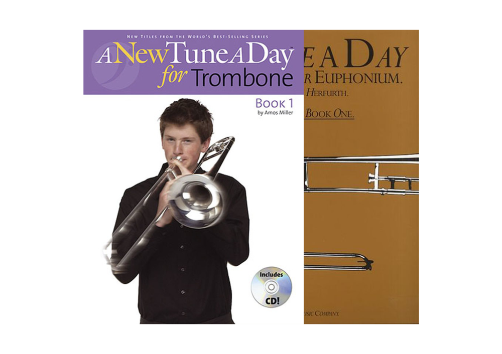 A New Tune a Day Trombone: Lesson Books