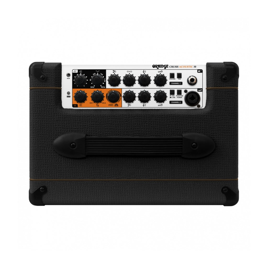 Orange Crush Acoustic 30 Twin Channel Amplifier - Black