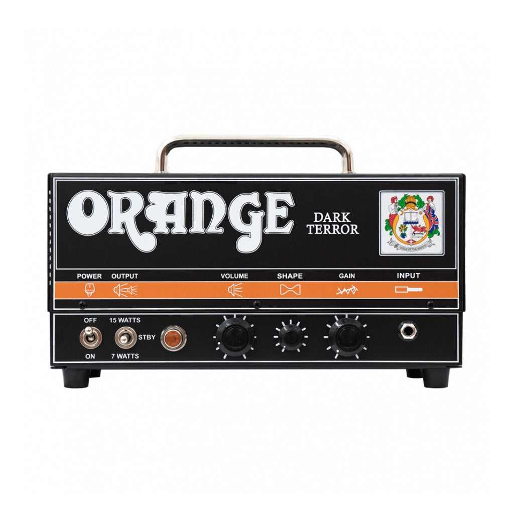 Orange DA15H Valve Dark Terror Guitar Amplifier Head