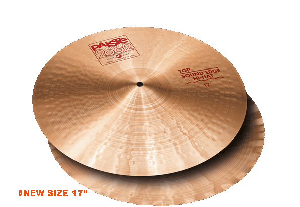 "Paiste 2002 Sound Edge 14"" HIHAT Cymbal Pair"