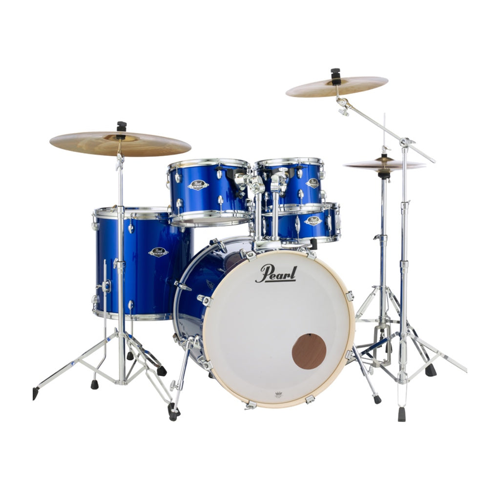 "Pearl Export EXX 20"" Fusion Drum Kit High Voltage Blue"