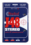 Radial J48 Stereo 2-Channel Premium Active DI-Box