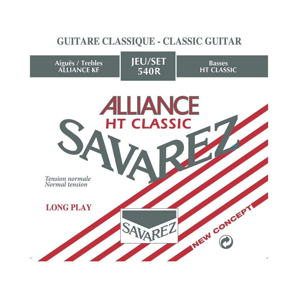 Savarez Alliance Classical Guitar String Set Normal Tension