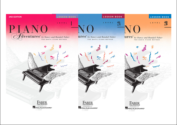 Faber Piano Adventures Lesson Books - All Levels
