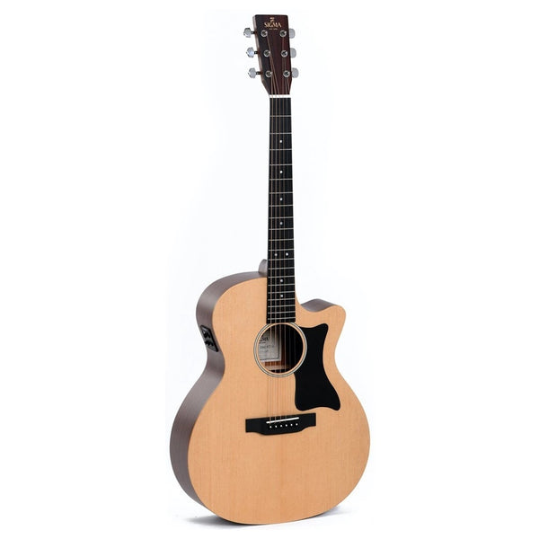 Sigma GMC-STE Cutaway Acoustic/Electric Guitar - Music Corner North