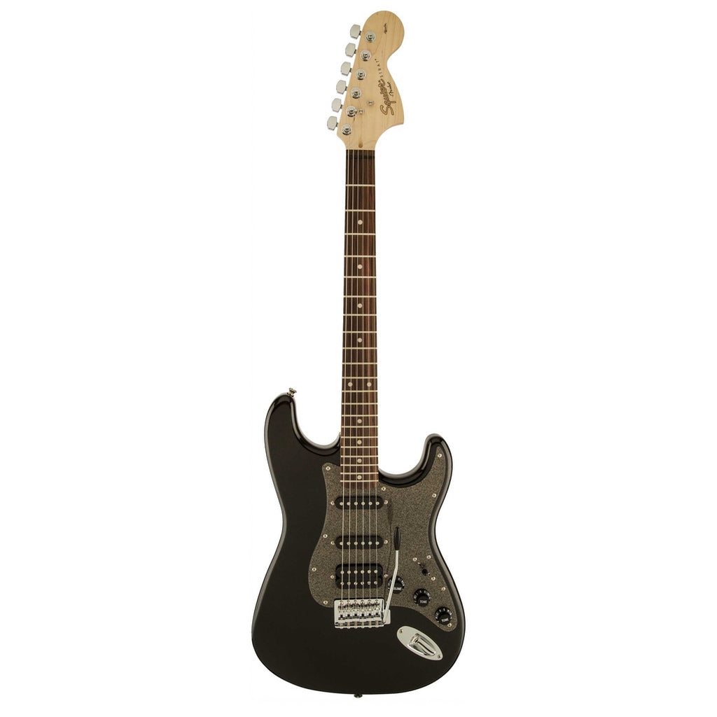 Squier Affinity HSS Fat Strat Electric Guitar Black Metallic - Music Corner North