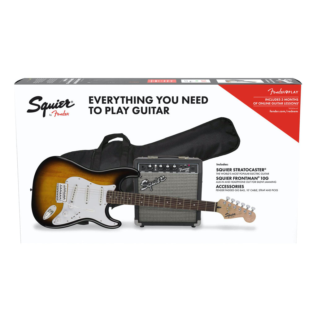 Squier Stratocaster Pack + FM10G Amplifier