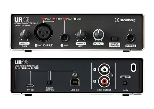 Steinberg UR12 Compact Audio Interface