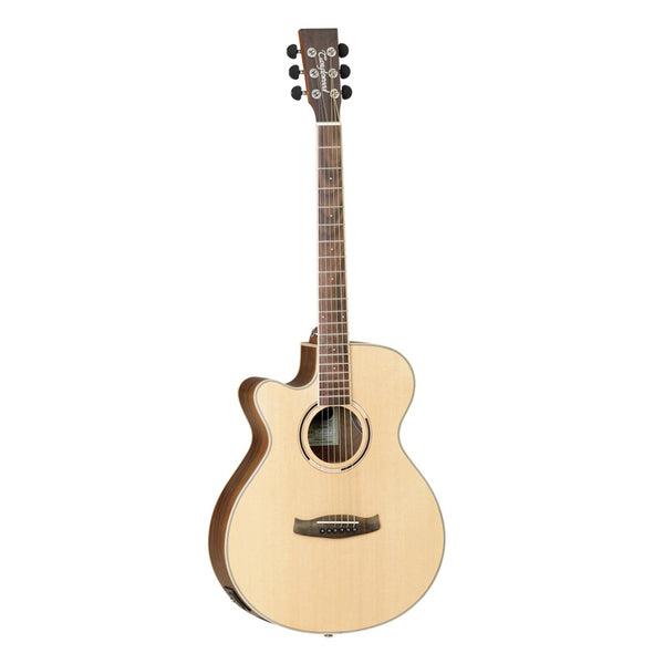 Tanglewood Discovery Exotic Left-Handed Acoustic Guitar