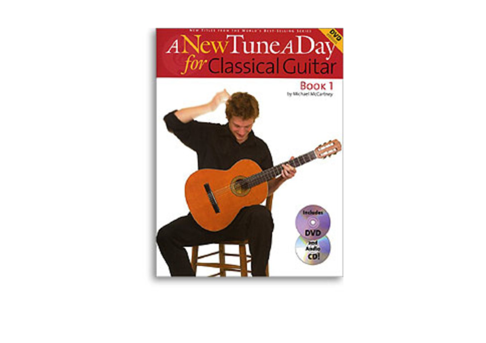 A New Tune a Day Classical Guitar: Lesson Book