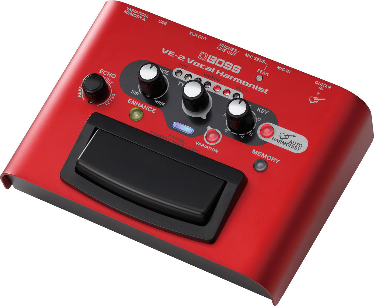 Boss VE-2 Vocal Harmonist Effect Pedal