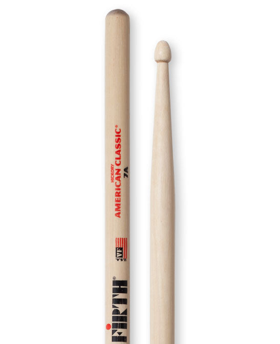 Vic Firth 7A American Classic Wood Tip Drumsticks
