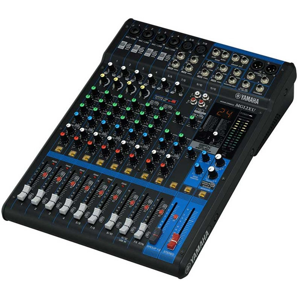 Yamaha MG12XU 12-Channel Analogue Mixer with Effects