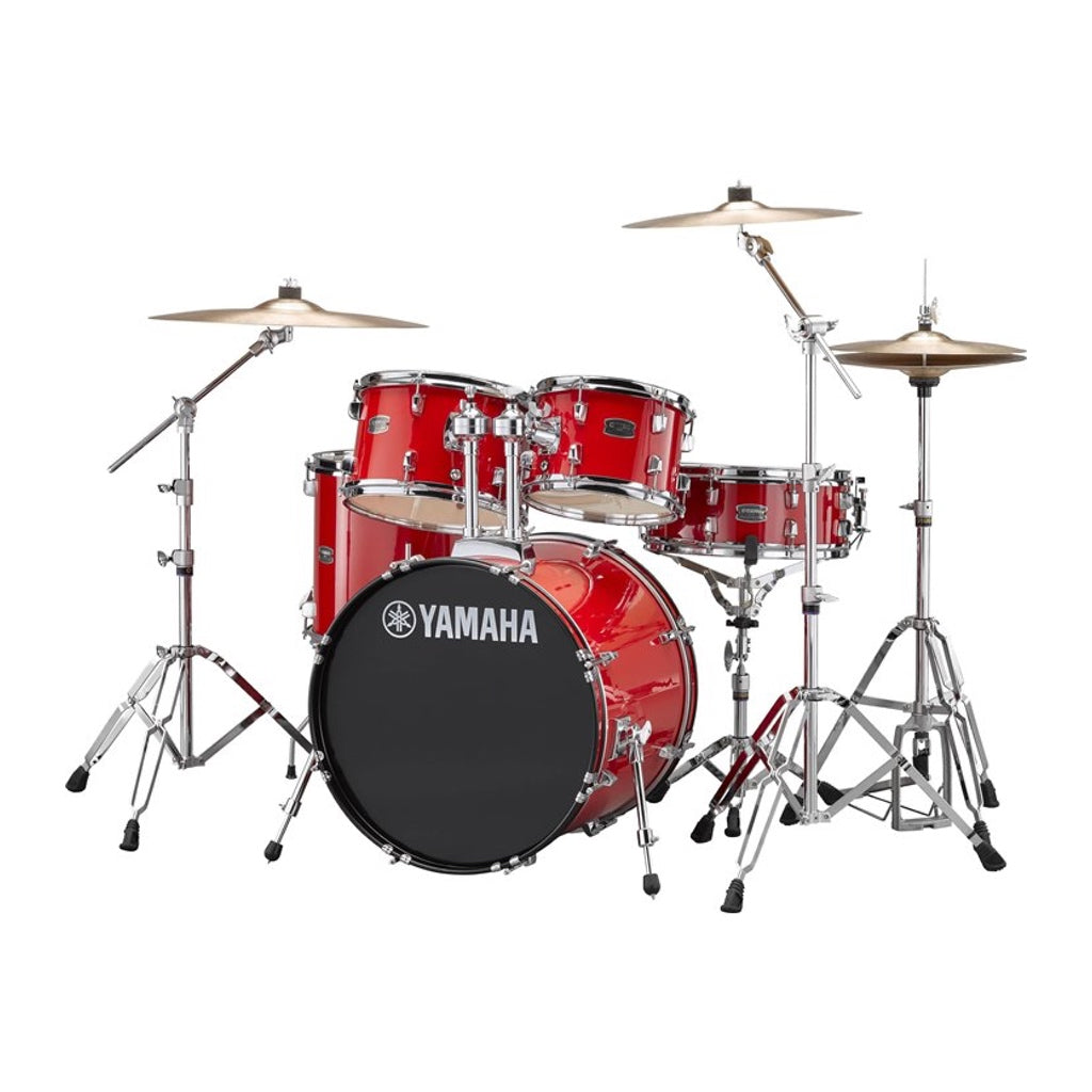 Yamaha Rydeen Acoustic Drum Kit Fusion Hot Red