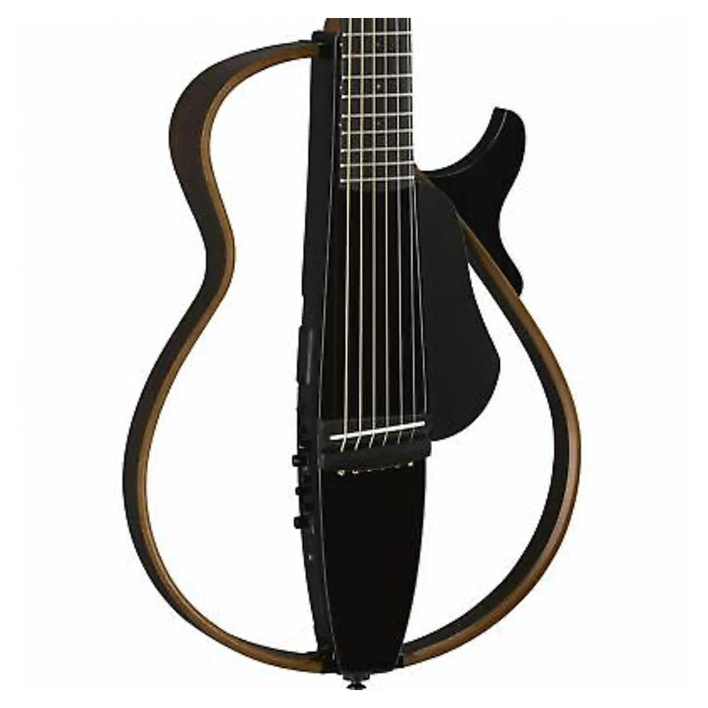 Yamaha SLG-200N Classical Silent Guitar Transparent Black - Music Corner North