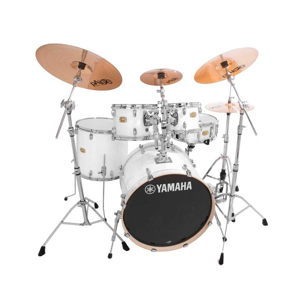Yamaha Stage Custom Birch Acoustic Drum Kit Euro Pure White