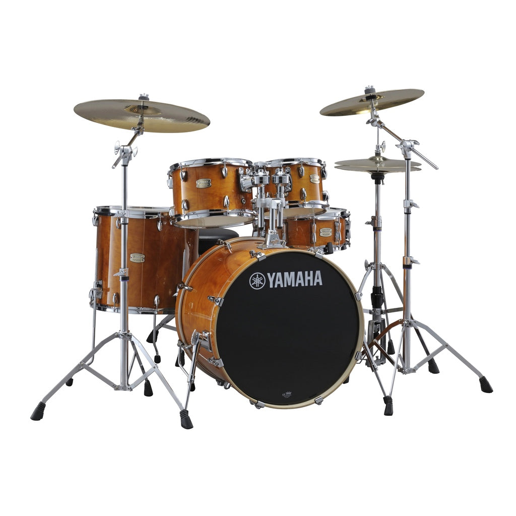 Yamaha Stage Custom Birch Acoustic Drum Kit Fusion Honey Amber