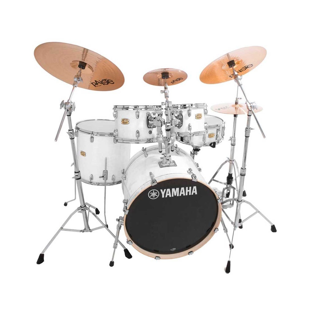 Yamaha Stage Custom Birch Acoustic Drum Kit Fusion Pure White