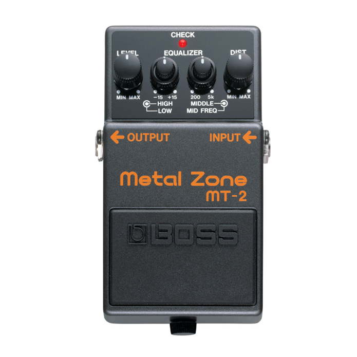 Boss MT-2 Metal Zone Distortion Effect Pedal