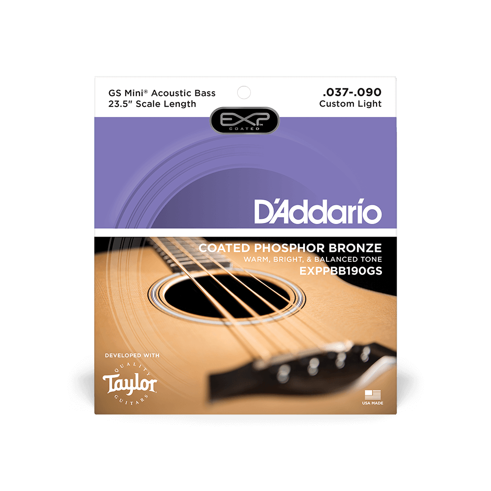D'Addario GS Mini Acoustic Bass String Set EXP Custom Light