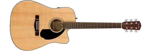 Fender CD-60SCE Dreadnought Style Acoustic Guitar