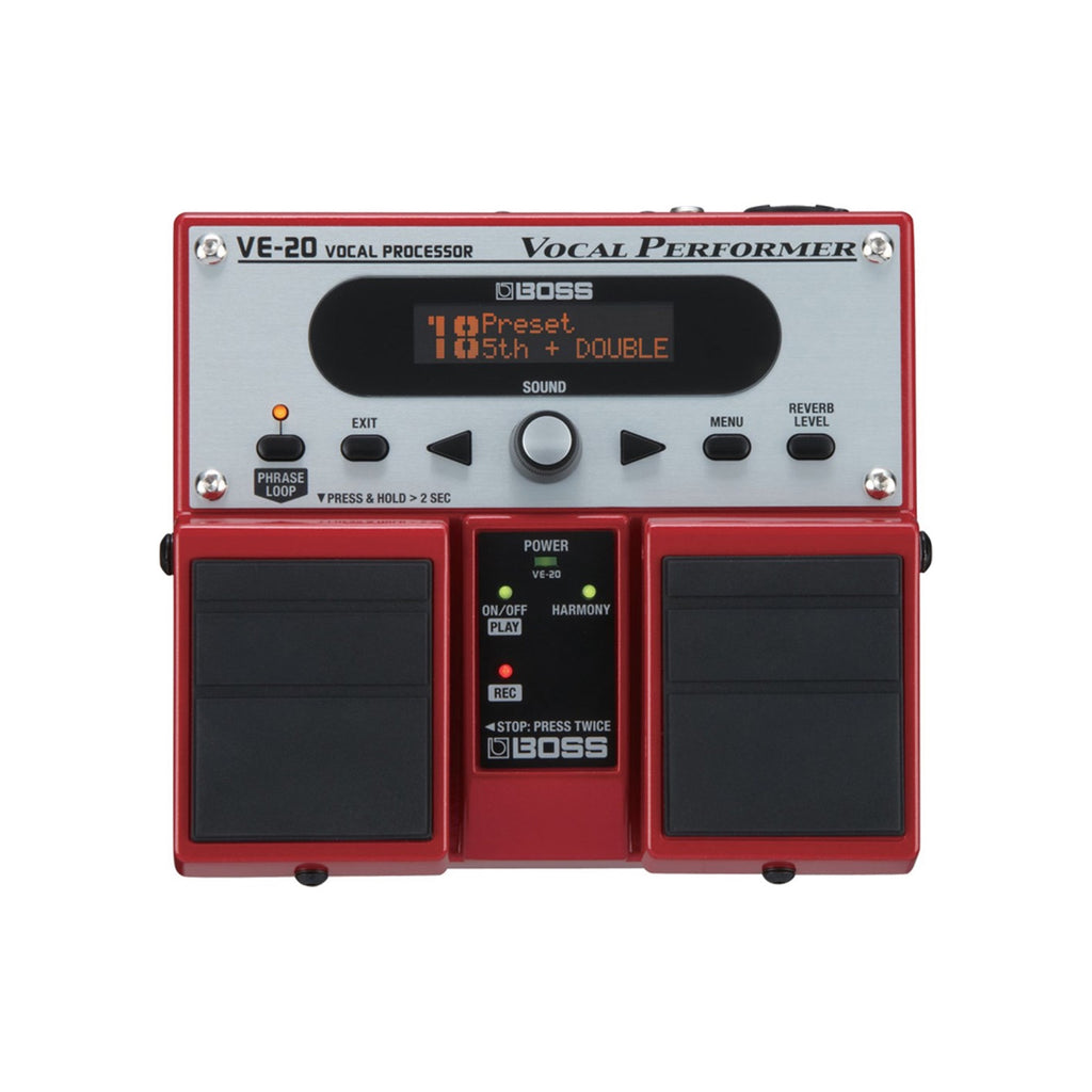 Boss VE-20 Vocal Performer Pedal